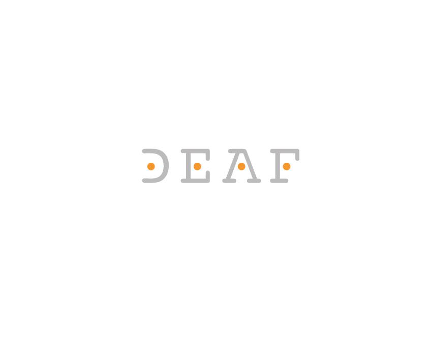 Logotype Design DEAF