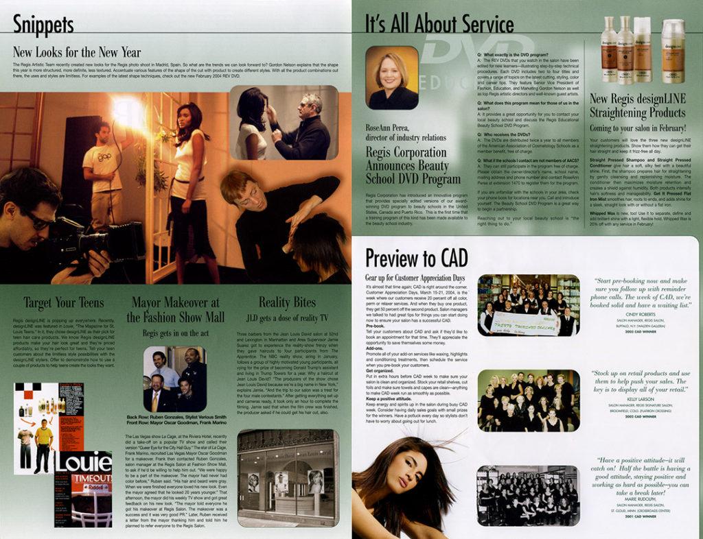 Newsletter Design - Regis